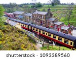 goathaland  england   may 1 ... | Shutterstock . vector #1093389560