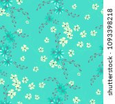small flowers. seamless pattern ... | Shutterstock .eps vector #1093398218