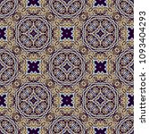 seamless ornamental vector... | Shutterstock .eps vector #1093404293