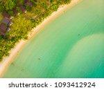beautiful aerial view of beach... | Shutterstock . vector #1093412924