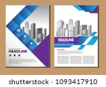 brochure design  cover modern...