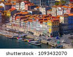 panoramic view of old city of... | Shutterstock . vector #1093432070