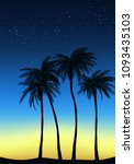 summer tropical backgrounds set ...   Shutterstock .eps vector #1093435103