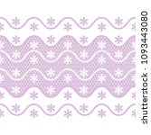 vector seamless pattern lace ... | Shutterstock .eps vector #1093443080
