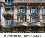 bari italy typical  old... | Shutterstock . vector #1093446896