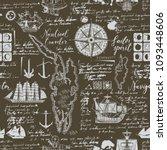 vector abstract seamless... | Shutterstock .eps vector #1093448606