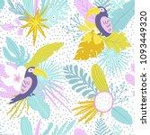 summer time illustration.... | Shutterstock .eps vector #1093449320