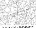 amazing diagonal black... | Shutterstock .eps vector #1093490993