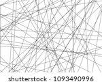amazing diagonal black... | Shutterstock .eps vector #1093490996