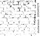 grunge black and white texture. ... | Shutterstock .eps vector #1093499279