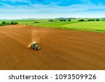 aerial shot of  farmer with a... | Shutterstock . vector #1093509926