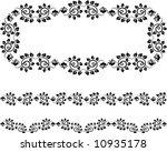 design  frame | Shutterstock .eps vector #10935178