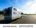 camping car. recreational... | Shutterstock . vector #1093518950
