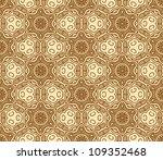 seamless wallpaper with aztec... | Shutterstock .eps vector #109352468
