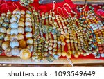 traditional stone beads ... | Shutterstock . vector #1093549649