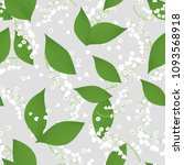 seamless pattern with vector... | Shutterstock .eps vector #1093568918
