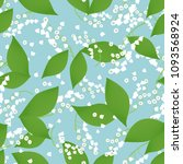 seamless pattern with vector... | Shutterstock .eps vector #1093568924