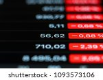 exchange rate on the black...   Shutterstock . vector #1093573106