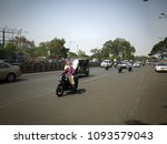 pune  india   may 18 2018  road ... | Shutterstock . vector #1093579043