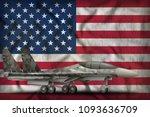 Fighter  Interceptor With City...