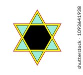 vector star of david | Shutterstock .eps vector #1093641938