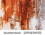 metal rust background metal... | Shutterstock . vector #1093656920
