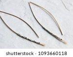 handmade hand hammered brass...   Shutterstock . vector #1093660118