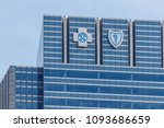 chicago   circa may 2018  blue...   Shutterstock . vector #1093686659