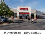 hobart   circa may 2018  costco ...   Shutterstock . vector #1093688630