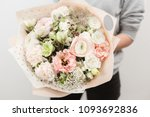 beautiful luxury bouquet of... | Shutterstock . vector #1093692836