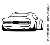 car tuning logo design vector...   Shutterstock .eps vector #1093693034