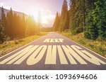 keep moving text written on... | Shutterstock . vector #1093694606