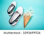 pair of summer white women... | Shutterstock . vector #1093699526