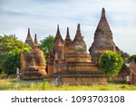 beautiful view of buddhist... | Shutterstock . vector #1093703108