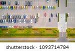 car parking lot viewed from... | Shutterstock . vector #1093714784