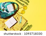summer fashion clothing and... | Shutterstock . vector #1093718330