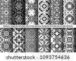 vector oriental patterns.... | Shutterstock .eps vector #1093754636