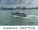 editorial use only  speed boat... | Shutterstock . vector #1093779128