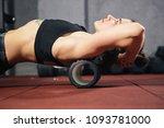 beautiful young caucasian woman ...   Shutterstock . vector #1093781000