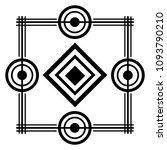 art deco background geometric... | Shutterstock .eps vector #1093790210