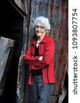 elderly woman  ninety seven...   Shutterstock . vector #1093807754