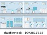 interior of operating room for... | Shutterstock .eps vector #1093819838