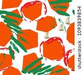 tropical  animal motif.... | Shutterstock .eps vector #1093839854
