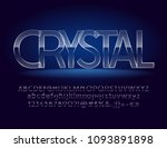 vector magic crystal... | Shutterstock .eps vector #1093891898