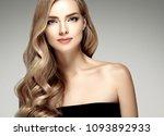 amazing woman portrait.... | Shutterstock . vector #1093892933