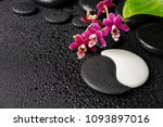 beautiful spa concept of zen... | Shutterstock . vector #1093897016
