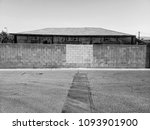 black and white building | Shutterstock . vector #1093901900