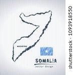 somalia national vector drawing ... | Shutterstock .eps vector #1093918550