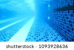 underwater in the swimming pool | Shutterstock . vector #1093928636