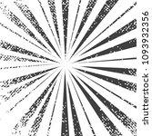 gray rays  grunge texture ... | Shutterstock .eps vector #1093932356